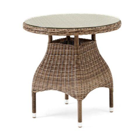 Ninja bord runt 70 cm i rustik konstrotting från Brafab.