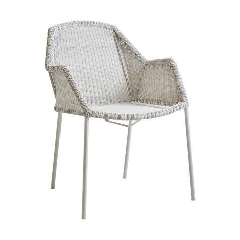Breeze stol i vitt från Cane-Line.