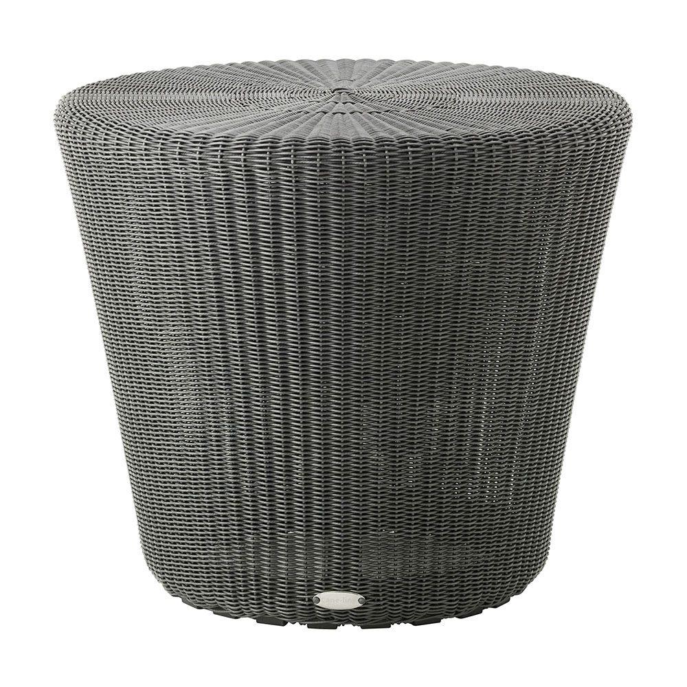 Kingston pall liten i cane-line fiber grafit.