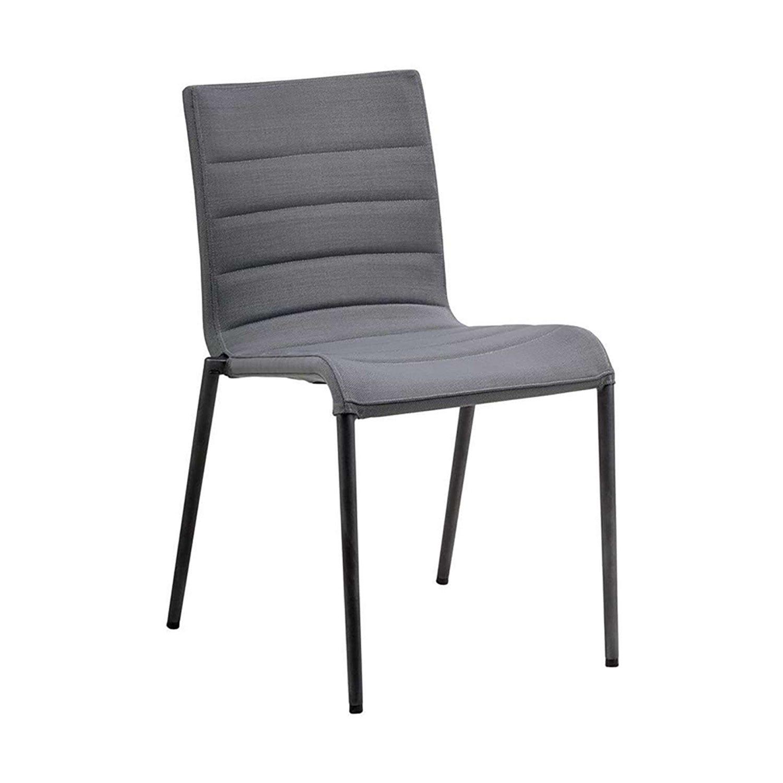 Core stol i grå soufttouch från Cane-line
