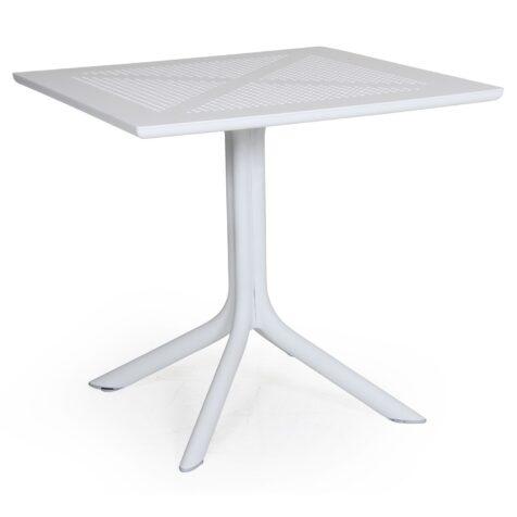 Clip bord i vit plast från Brafab