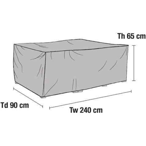 Möbelskydd till soffa 240x90x65 cm från Brafab.