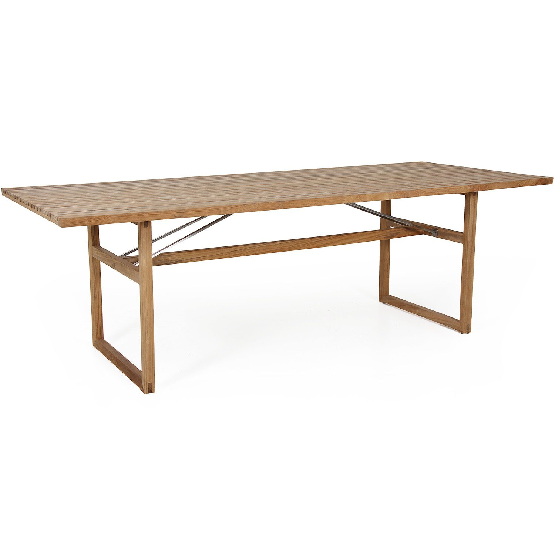 Vevi matbord 230x95 i teak från Brafab.