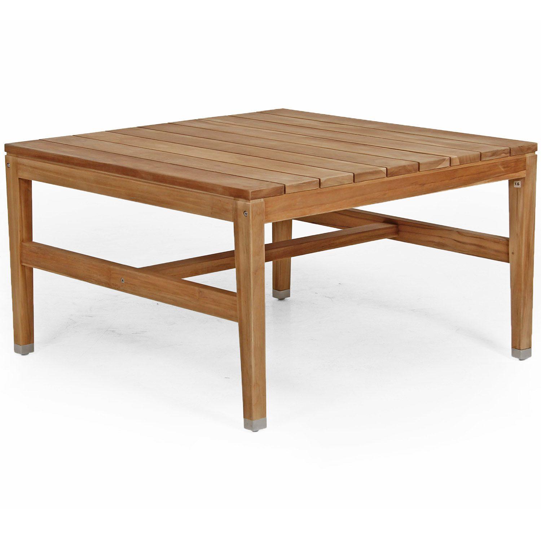 Elati soffbord kvadratiskt i teak från Brafab.