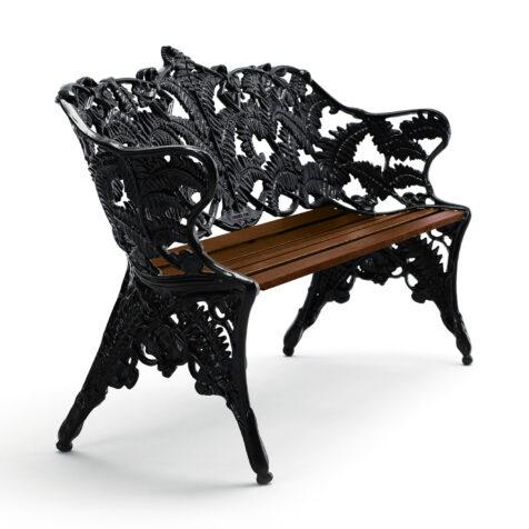 Byarums Bruk Classic Soffa svart oljad mahogny