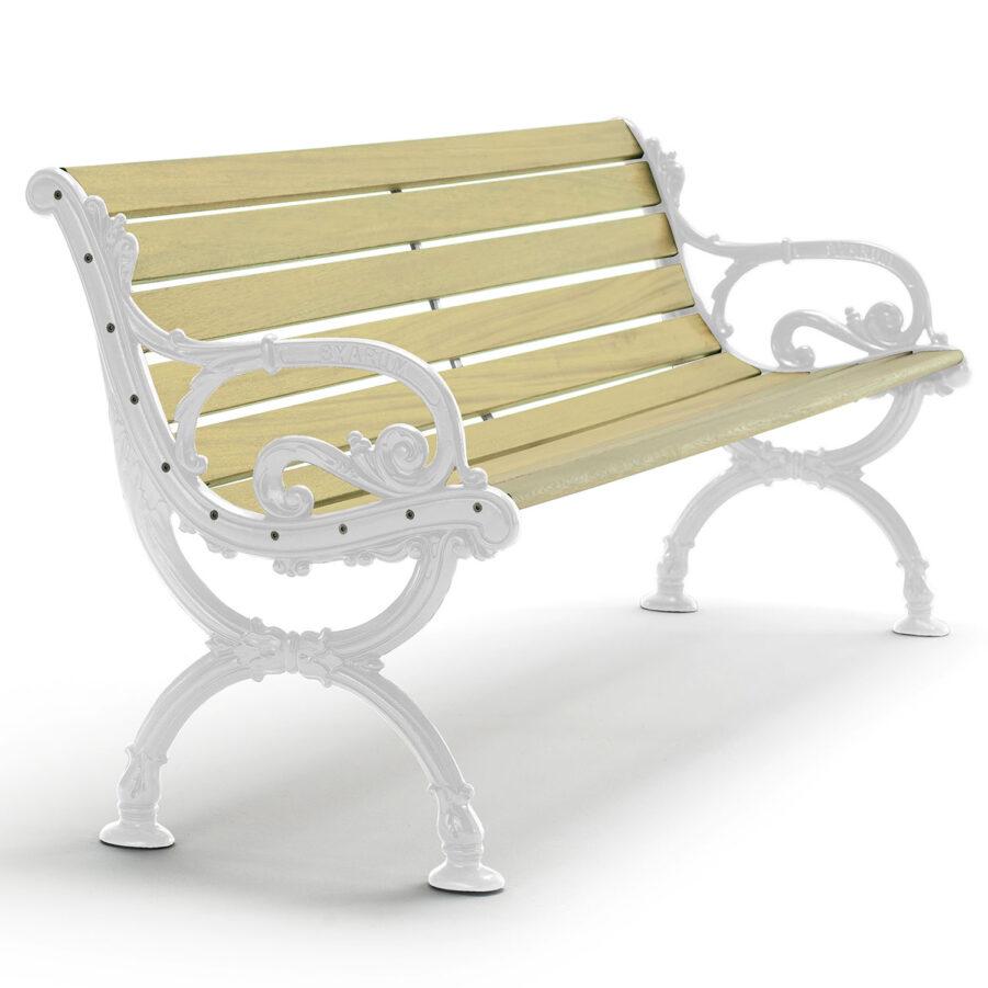 Byarums bruk soffa vita gavlar impregnerat