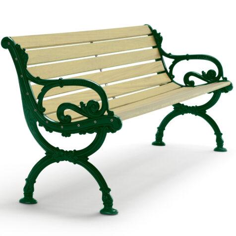 Byarums Bruk Soffa gröna gavlar impregnerat