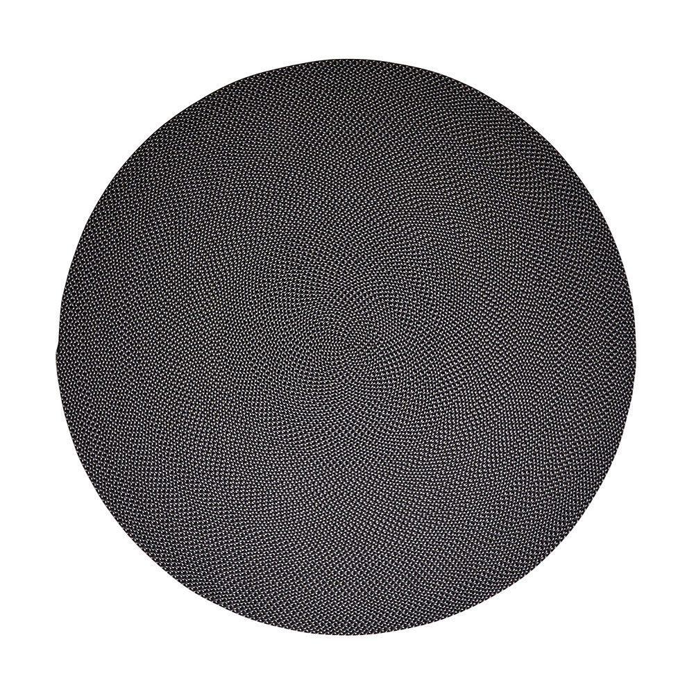 Defined matta i blått och grått storlek 200 cm i diameter.
