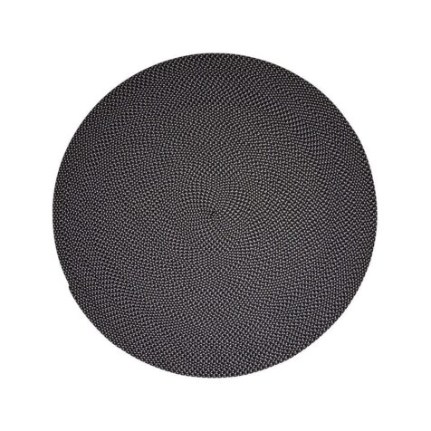 Defined mörkblå och grå matta från Cane-LIne.