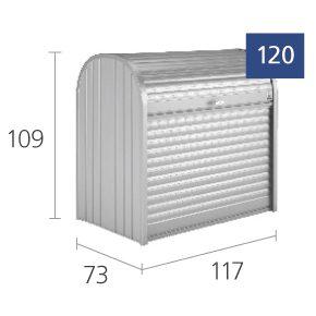 Skiss av Storemax 120 från Biohort