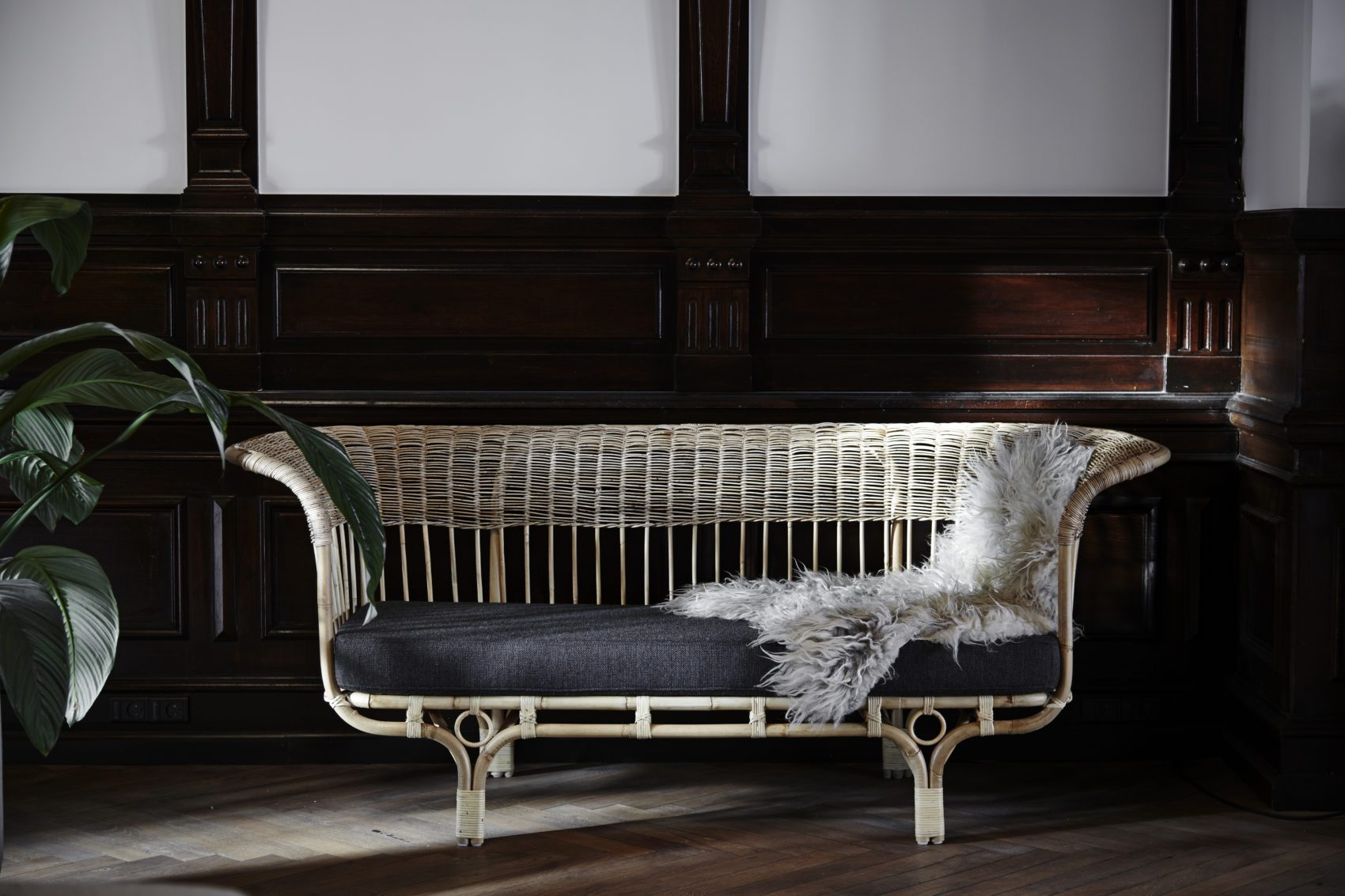 Belladonna soffa av designern Franco Albini.