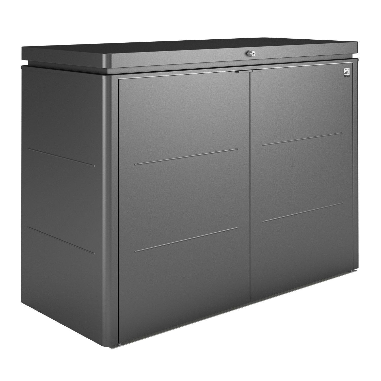HighBoard förvaringsbox 160, mörkgrå, från Biohort