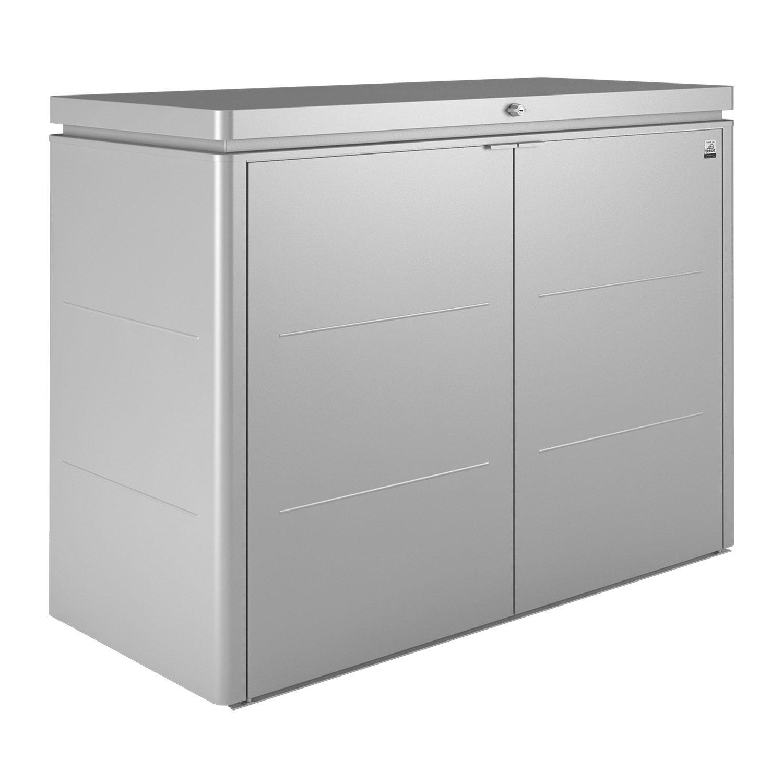 HighBoard förvaringsbox 160, silver, från Biohort