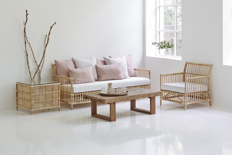 Caroline soffa och fåtölj från Sika-Design.