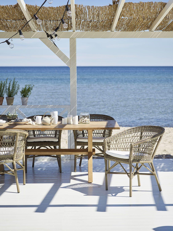 Emma matstol och Colonial matbord av sika-Design.
