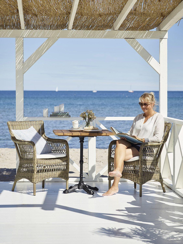 Marie stolar och Base bord från Sika-Design.