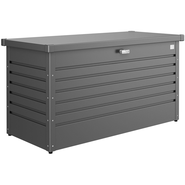 LeisureTime förvaringsbox 130, mörkgrå från Biohort