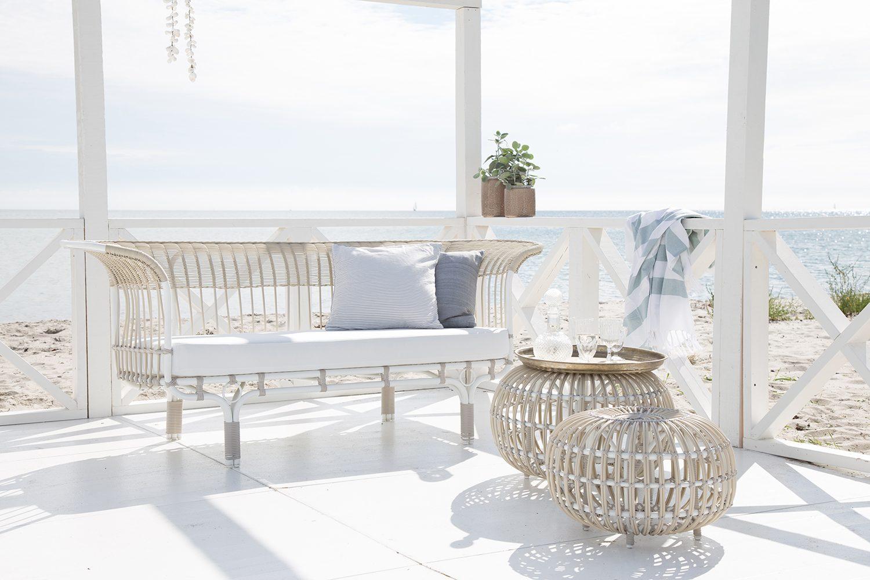 Belladonna soffa och Ottomaner från kollektionen exterior av Sika-Design.