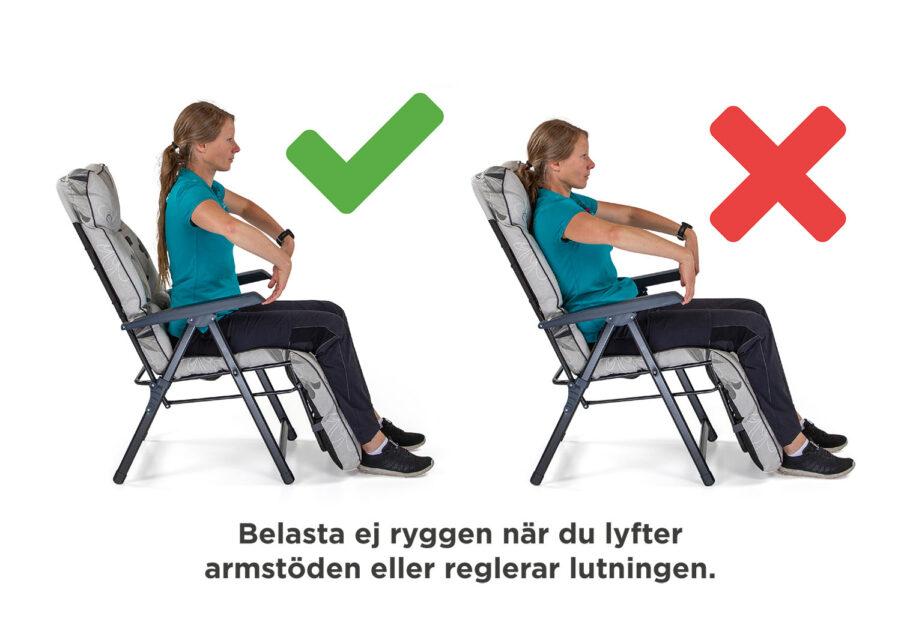 Instruktion till Baden-Baden-stolar.