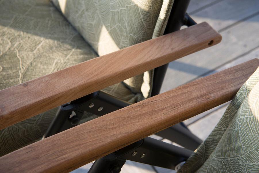 Hillerstorp Nydala Positionsstol silver/svart