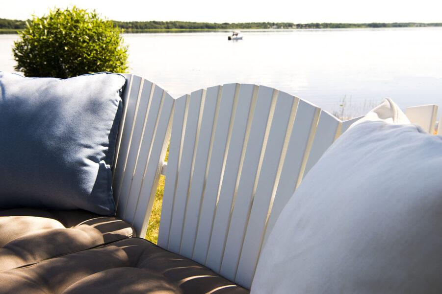 Detaljbild på Solvik soffa från Hillerstorp.