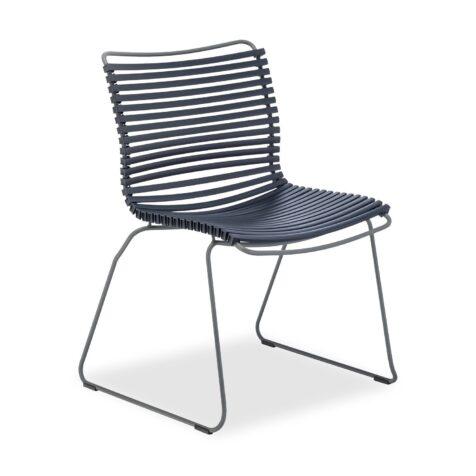 Click matstol i mörkblått från Houe.
