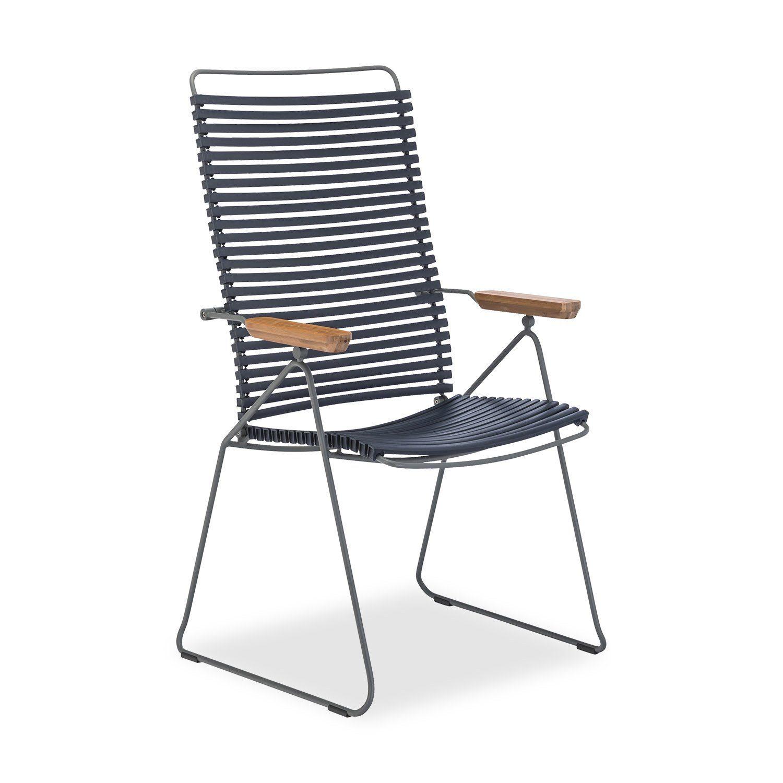 Click positionsstol från Houe i mörkblått.