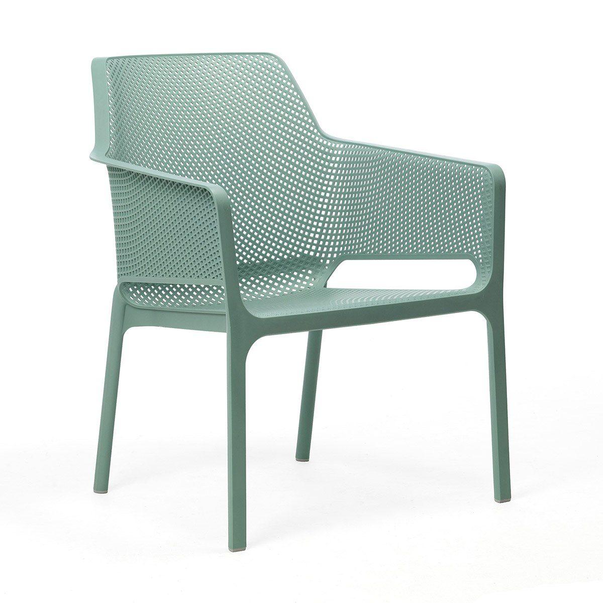 Net relax stol i grönt från Nardi.