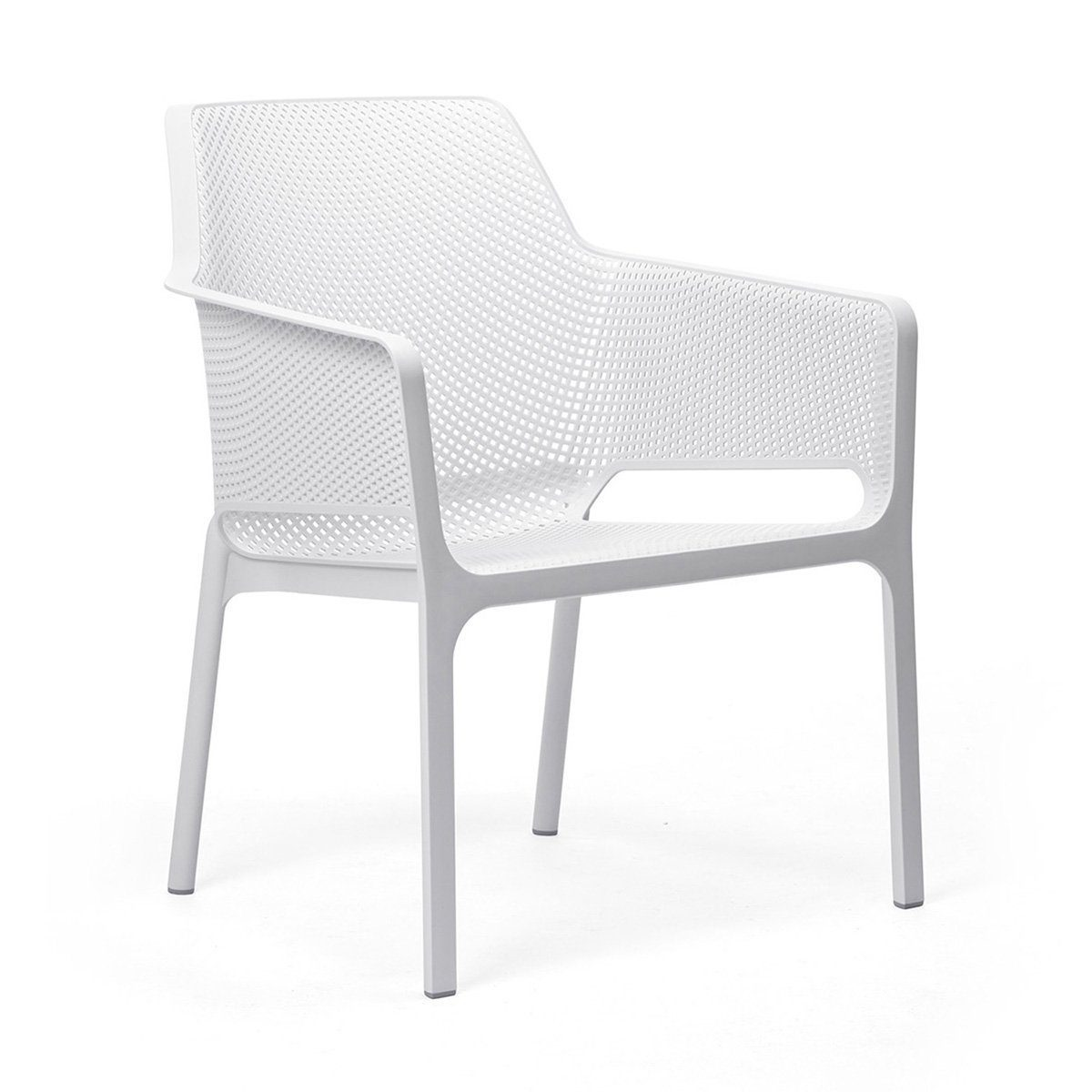 Net relax stol i vitt.