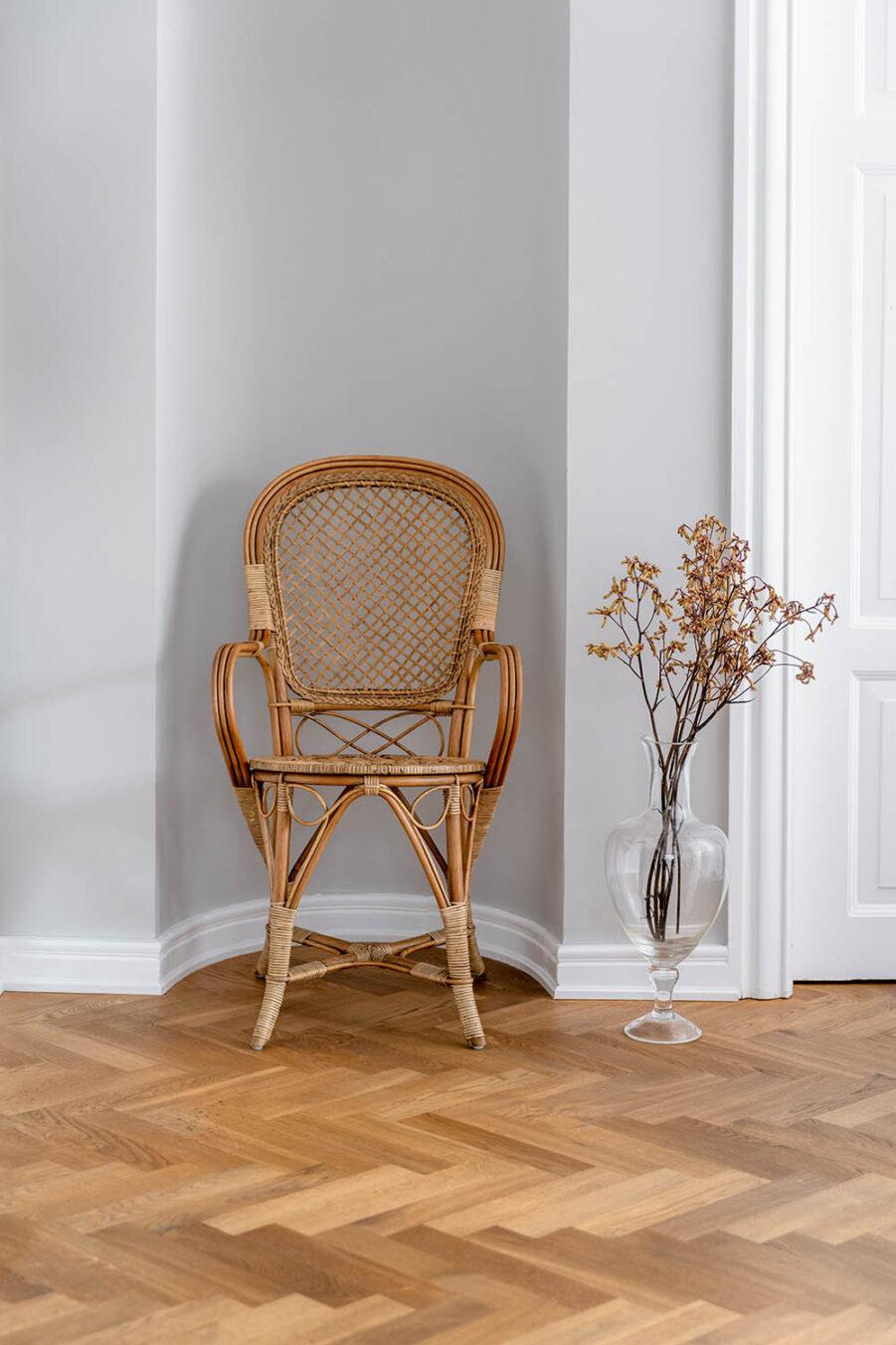 Sika-Design Fleur stol antik