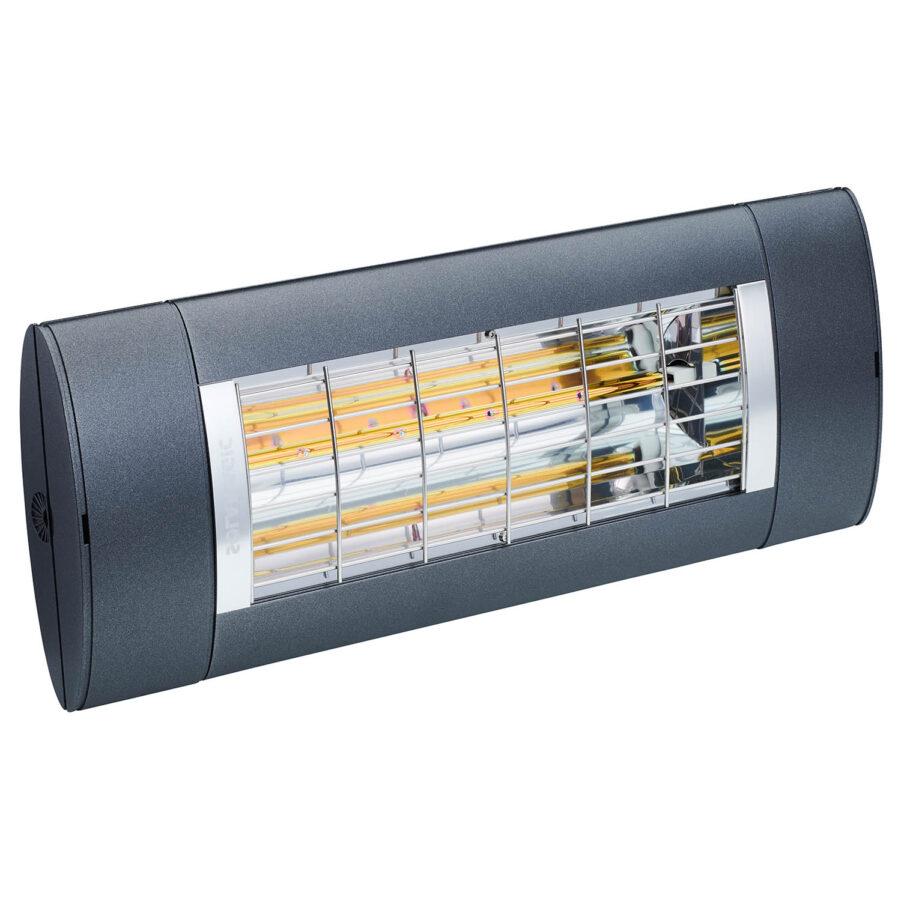 Premium+ 2000 värmare från Solamagic i färgen antracit.
