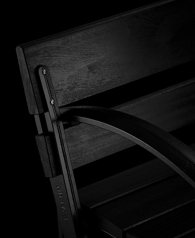 Detaljbild på Waterloo soffa från Byarums Bruk.