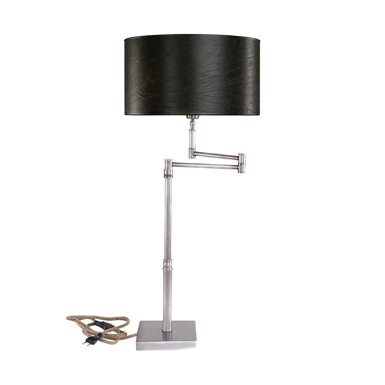 Pewter Swing bordslampa glansig från Artwood.