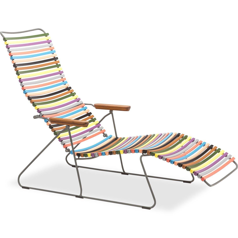 Click däckstol från Houe i multicolor.