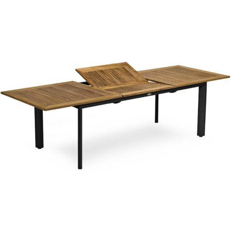 Nydala matbord från Hillerstorp i svart och teak.