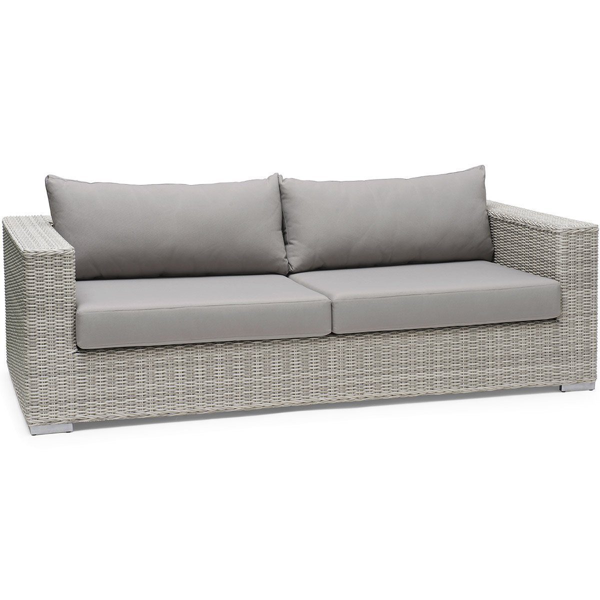 Hamilton lounge soffa i konstrotting.
