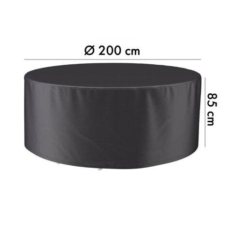 7912 Aerocover möbelskydd, Ø200 cm höjd 85 cm