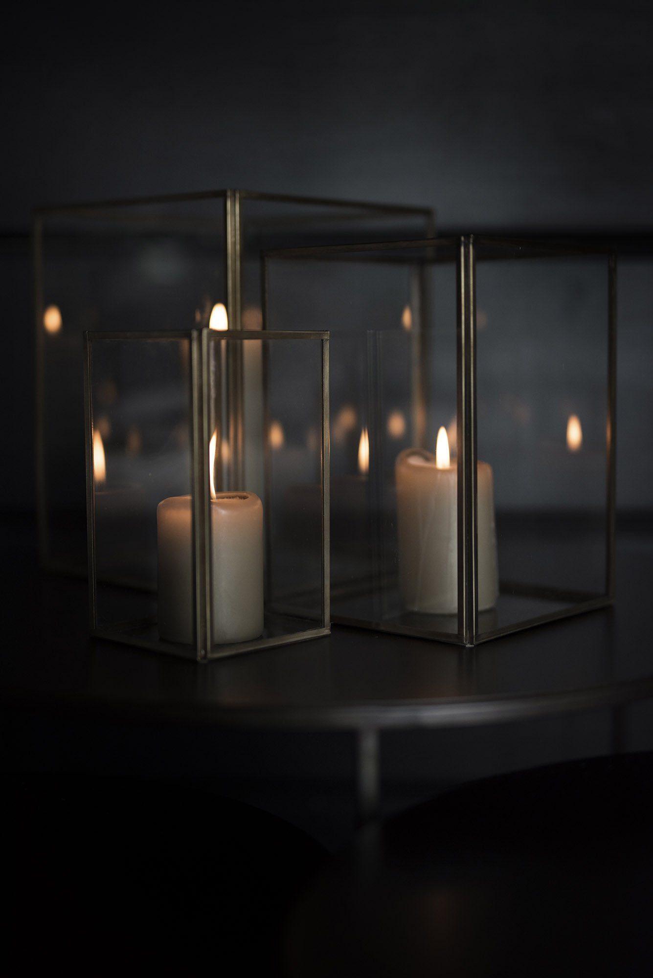 Lausanne ljuslyktor från Artwood.
