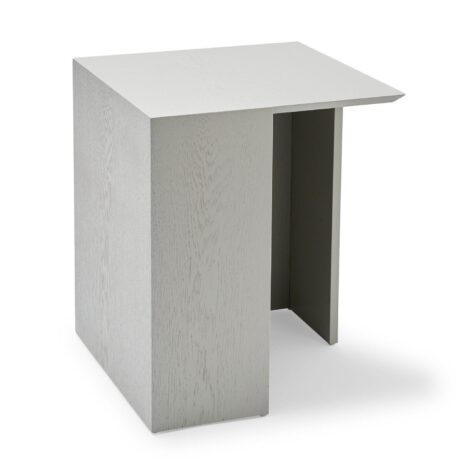 Building sidobord i ljusgrått 40x40 cm från Skagerak.