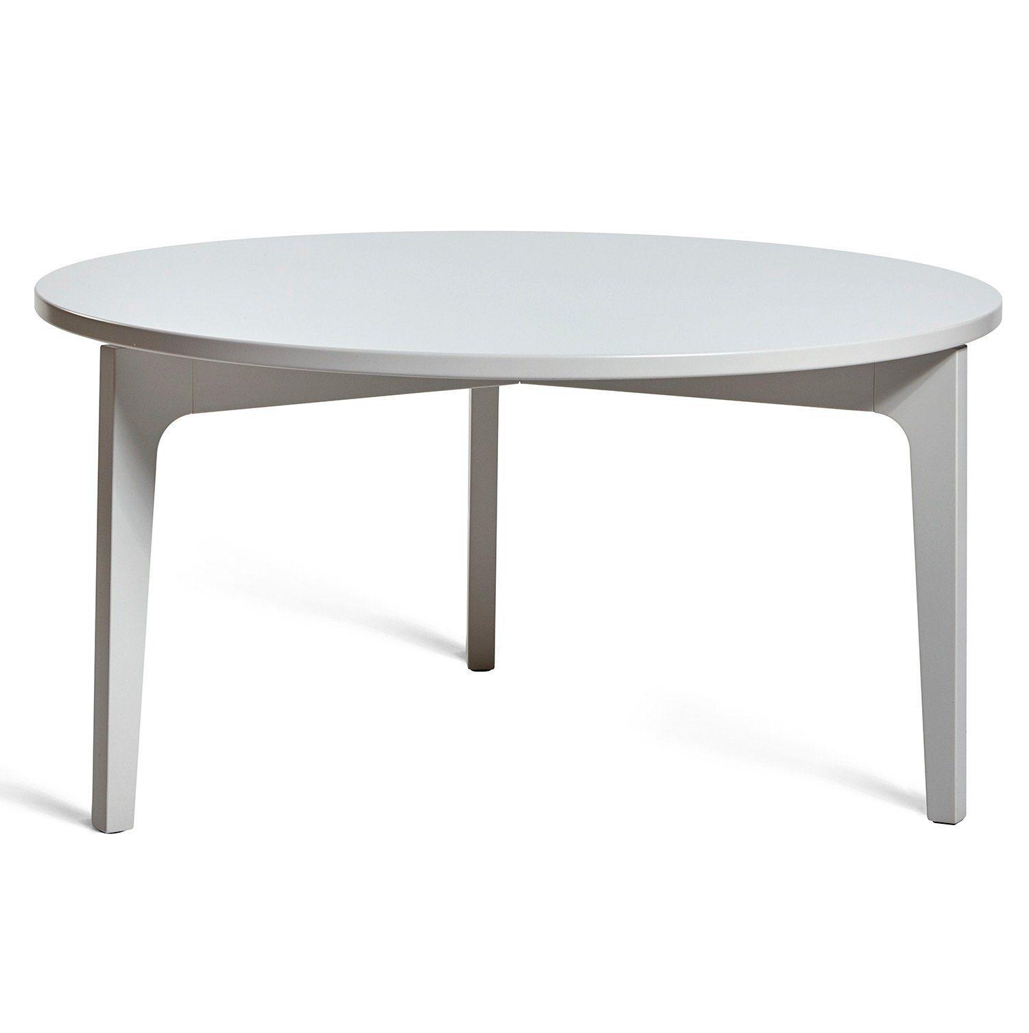 Höllviken soffbord i ljusgrått från Mavis.