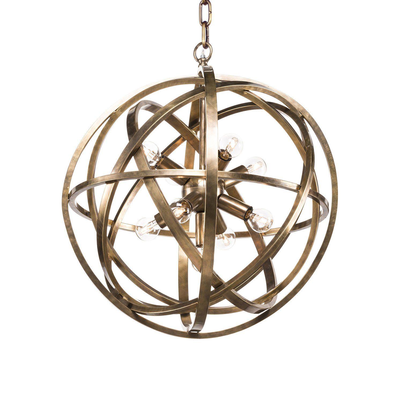 Liten Nest lampa i mässing från Artwood.