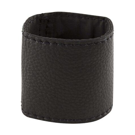 Nero servettring i svart läder från Artwood.