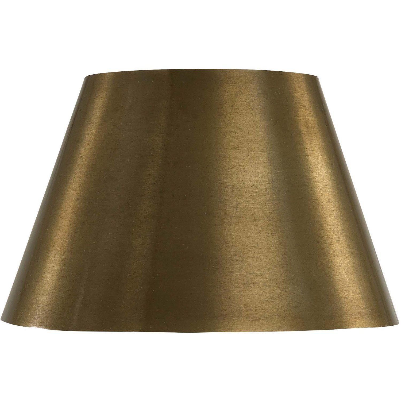 Graz lampskärm 25 cm i diameter i mässingsfärg.