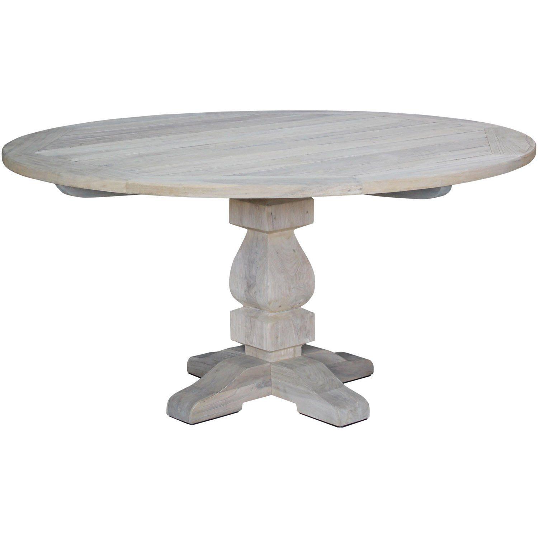 Artwood French matbord i grånad ton.
