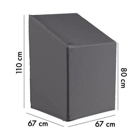 7962 Aerocover möbelskydd för stapelstolar 67x67 cm