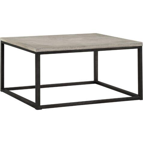 Yoshi fyrkantigt soffbord från Artwood i betong.