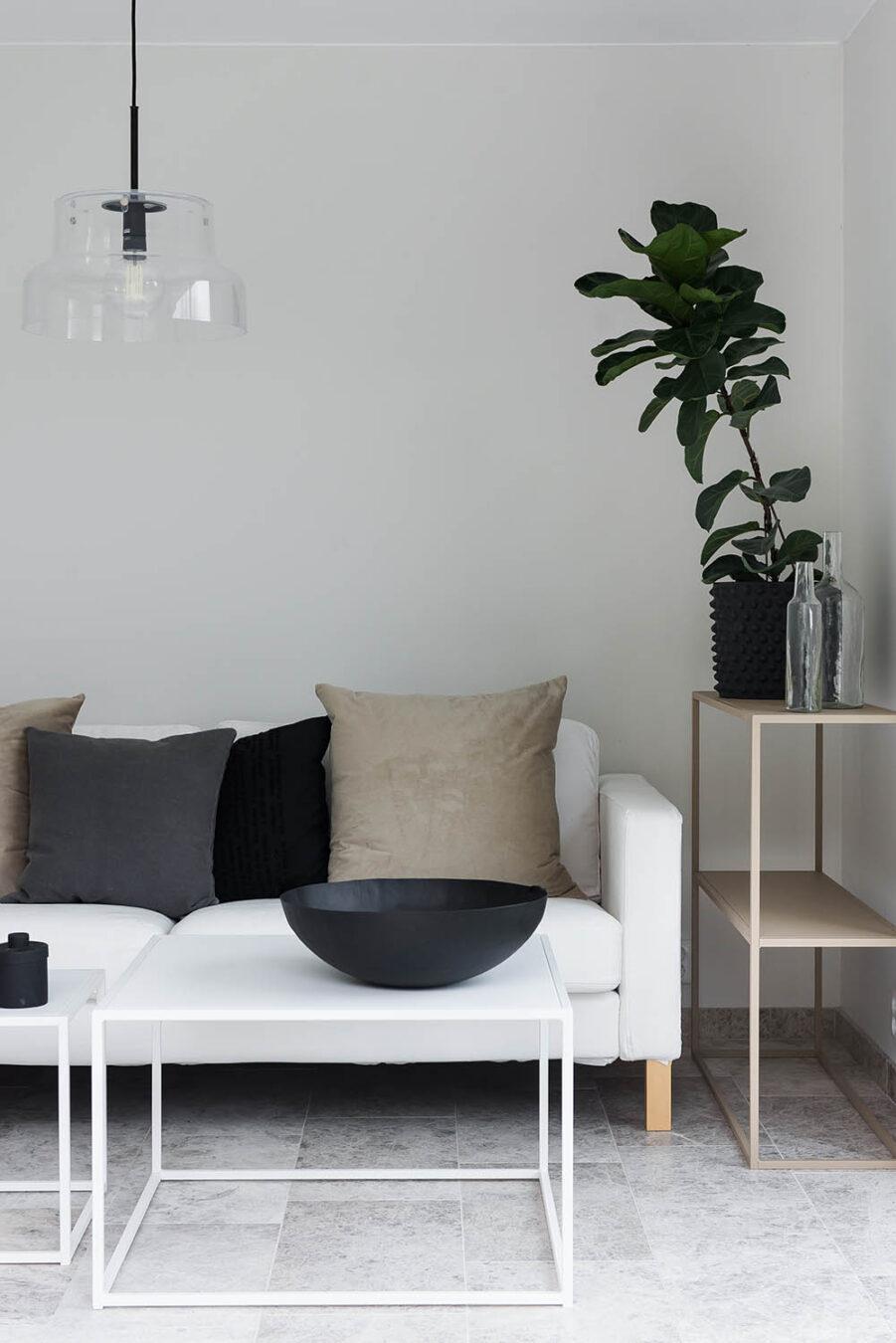 Miljöbild på Design Of soffbord i vitt.