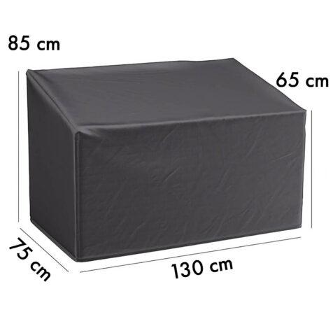 7908 Aerocover möbelskydd för parksoffa, 130x75 cm höjd 65/85 cm