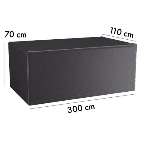 7928 Aerocover möbelskydd till bord, 300x110 cm höjd 70 cm
