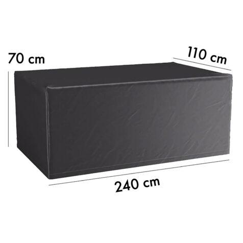 7926 Aerocover möbelskydd till bord, 240x110 cm höjd 70 cm